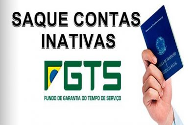 Saque contas inativas FGTS 400x255 - Termina hoje prazo para sacar FGTS de contas inativas