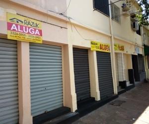 estabelecimento comercial fechado - Fechamento de lojas no ES desacelera no 1º trimestre