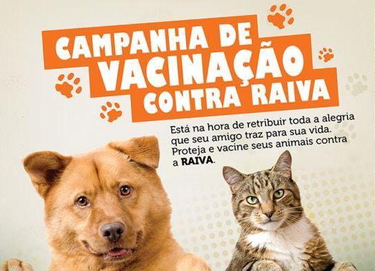 SEMUS organiza campanha de Vacinação Antirrábica Animal 2017