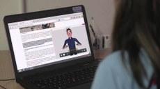 Aplicativo transforma conteúdos da internet para a linguagem brasileira de sinais - Aplicativo transforma conteúdos da internet para a linguagem brasileira de sinais