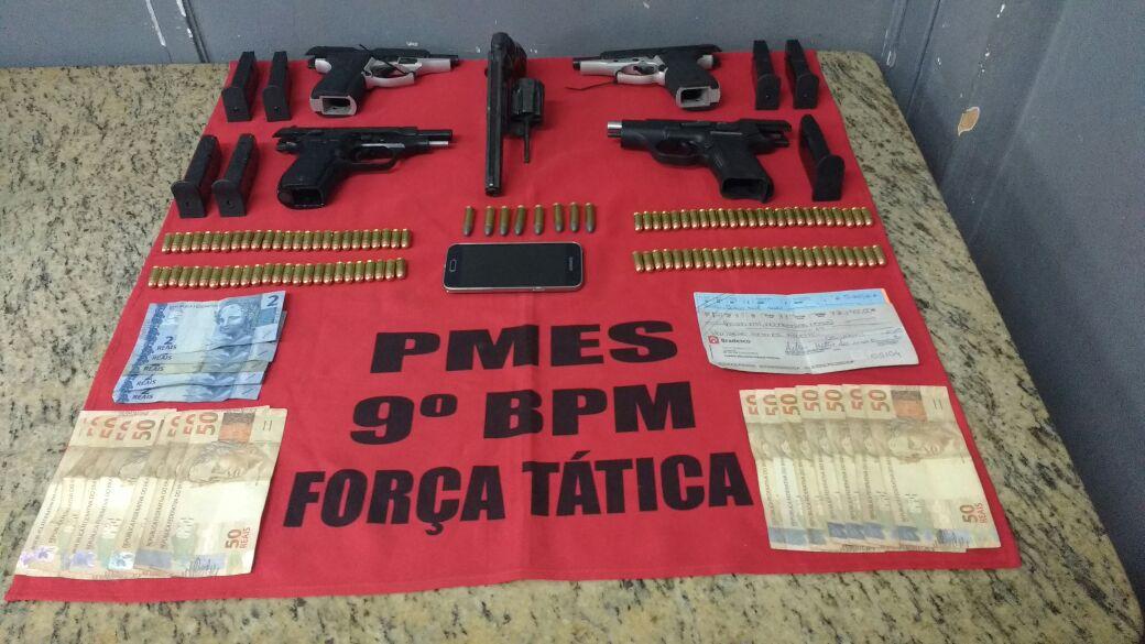 PM prende acusado de tráfico de armas de fogo em Mimoso do Sul