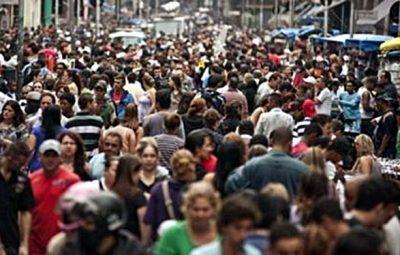 População brasileira passa de 2077 milhões em 2017 400x255 - População brasileira passa de 207,7 milhões em 2017