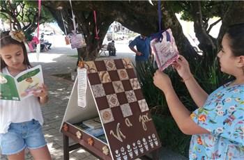Projeto biblioteca na rua em Iconha