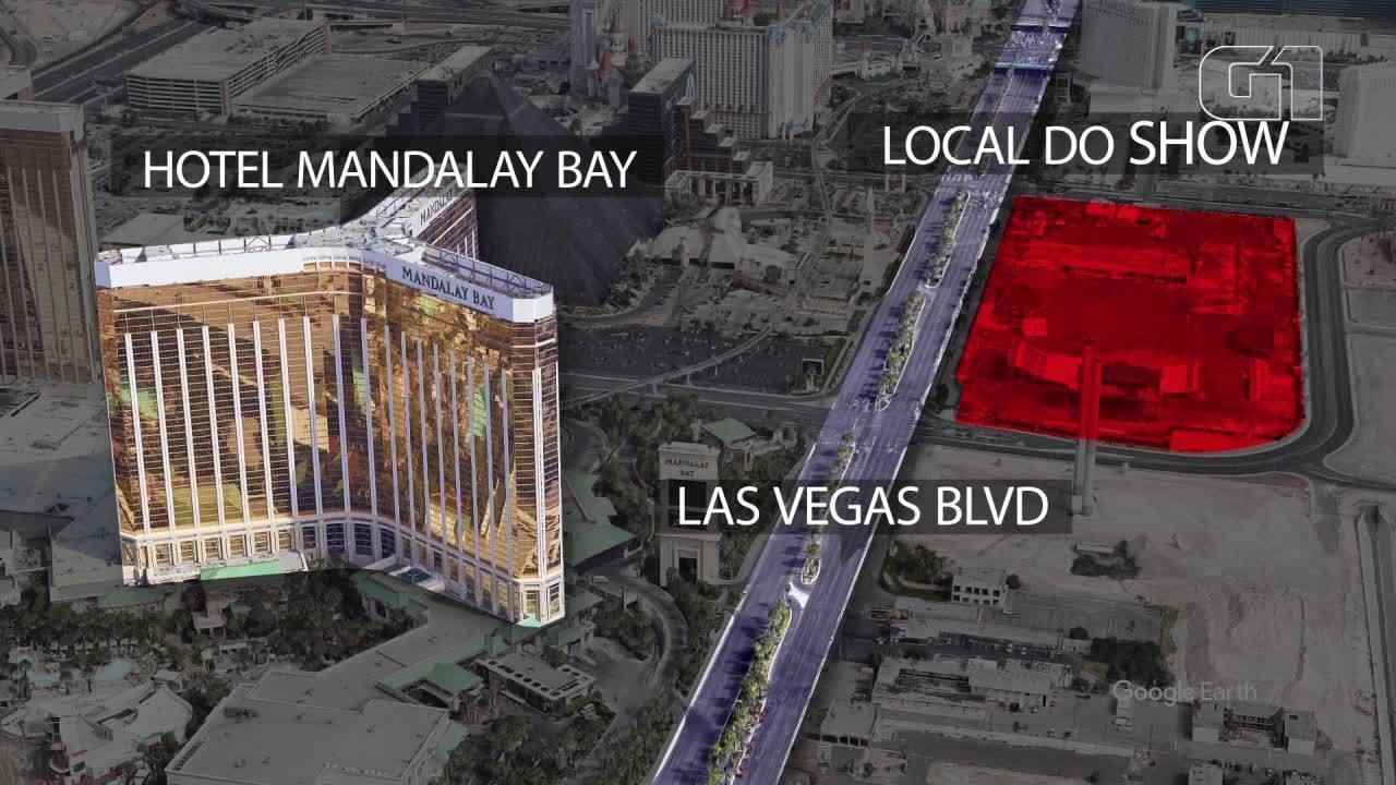 Atirador de Las Vegas tinha um total de 42 armas em casa e no hotel
