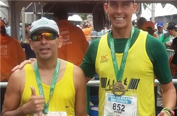 Atleta Iconhense conquista 2° lugar em corrida internacional