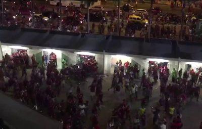 maracana 400x255 - Torcedores do Flamengo invadem Maracanã e provocam tumulto no entorno do estádio