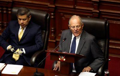 presidente peruano Pedro Pablo Kuczynski 400x255 - Começa processo de impeachment do presidente do Peru: 'Venho hoje encarar o país por uma acusação falsa'