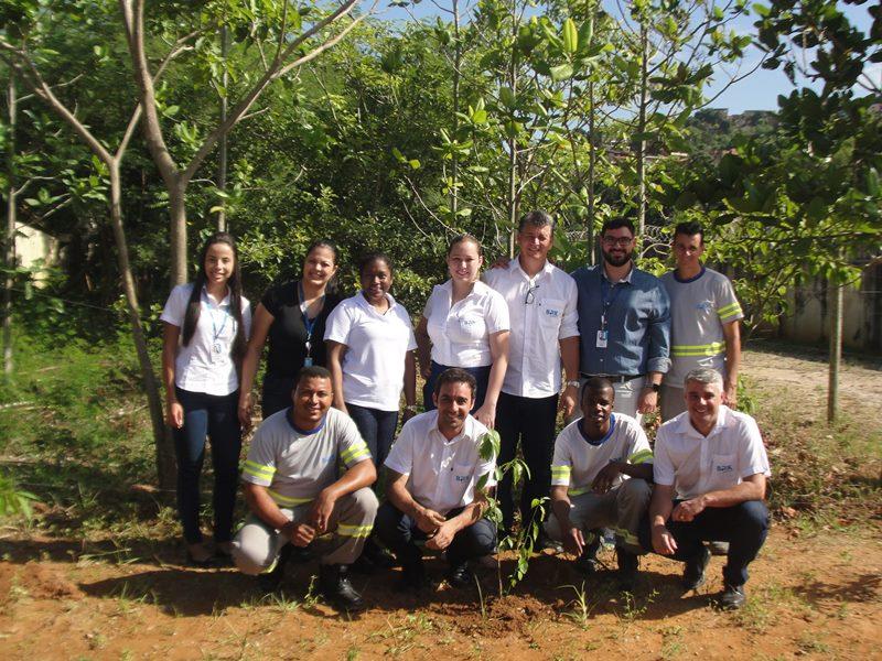 Plantio de mudas realizado pela BRK Ambiental  contribui para a reflexão sobre o futuro do meio ambiente