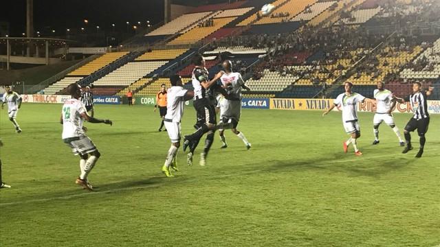 Atlético-ES empata com o Luverdense e pega o Paysandu na final da Copa Verde 2018