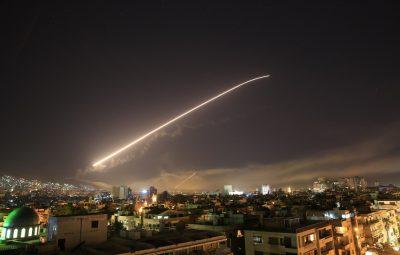 damasco 400x255 - EUA, Reino Unido e França lançam ataque contra a Síria em resposta a suposto uso de armas químicas