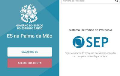 Capixabas podem acompanhar processos administrativos no ES na Palma da Mão 400x255 - Capixabas podem acompanhar processos administrativos no ES na Palma da Mão