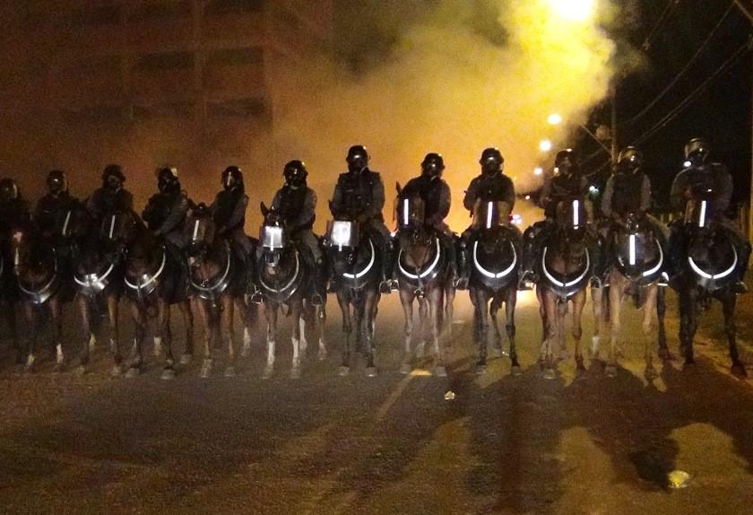 Regimento de Polícia Montada inicia Curso de Choque Montado