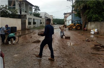 Boletim informativo das chuvas de Iconha