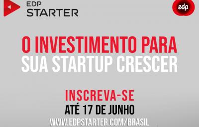 EDP Starter Brasil prorroga inscrições até 17 de junho 400x255 - EDP Starter Brasil prorroga inscrições até 17 de junho