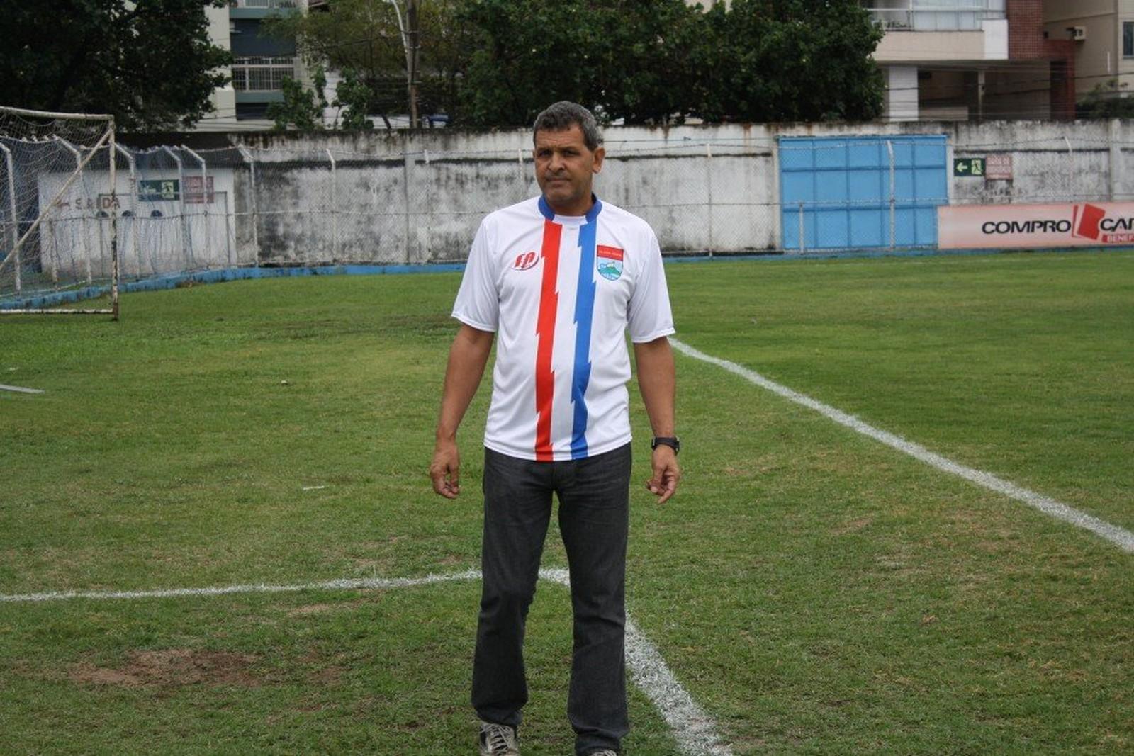 Mariozan Felipe será o técnico do São Mateus na Copa Espírito Santo 2018