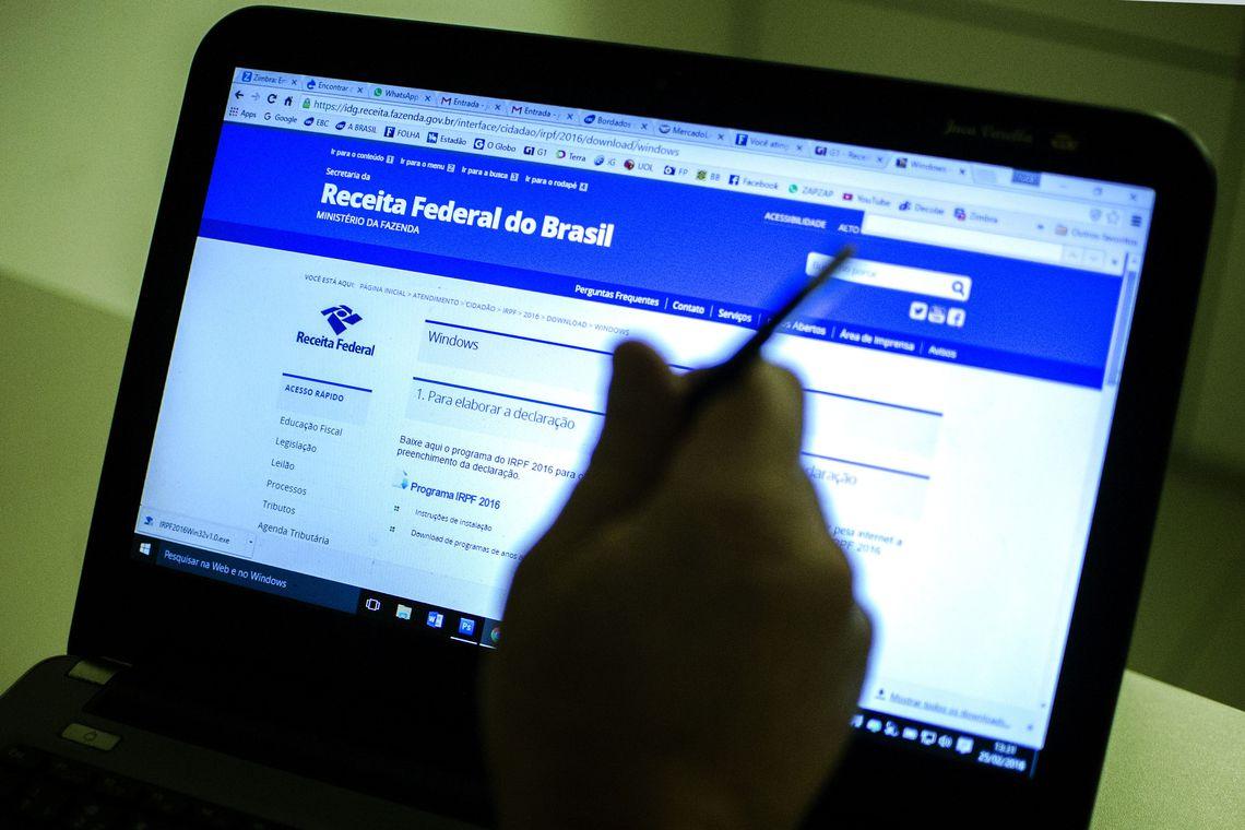 Receita recebe 2,8 milhões de declarações do IR em uma semana