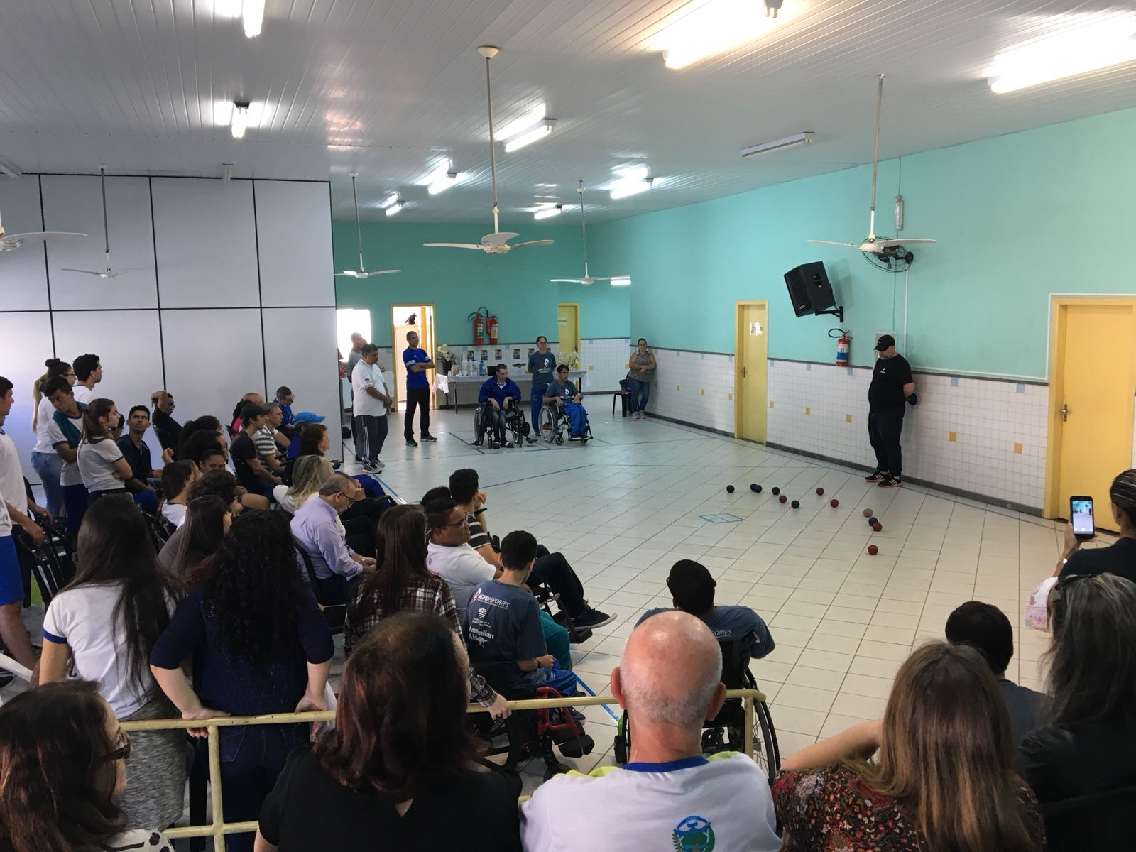 Iconha:  I Torneio de Bocha Paralímpica com cadeirantes