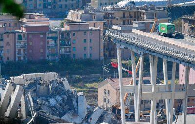 bridge2 400x255 - Buscas por sobreviventes de queda de ponte continuam em Gênova; número de mortos sobe para 39