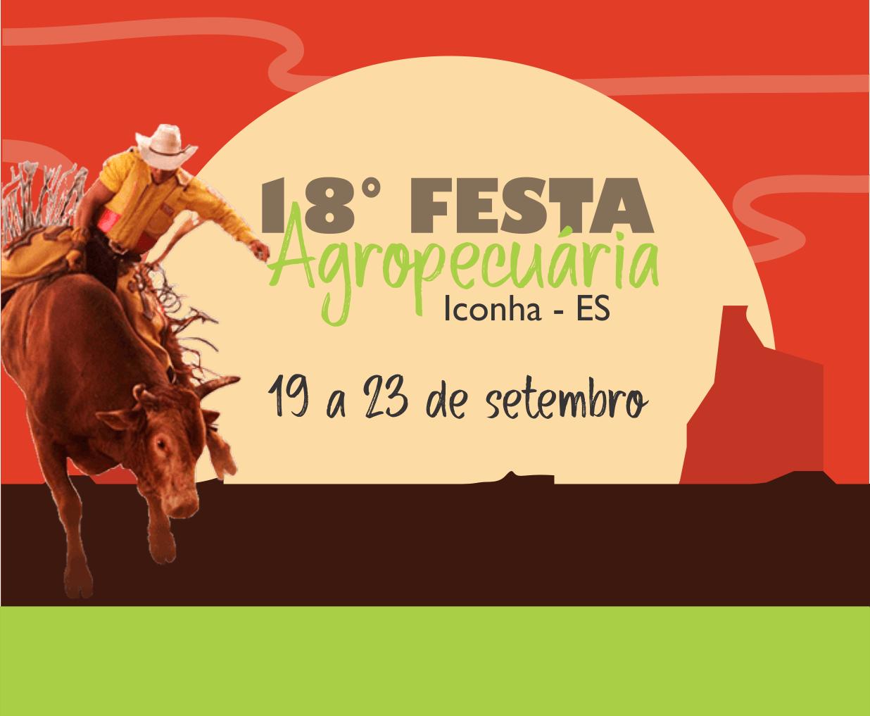 Iconha: Prefeitura divulga a programação oficial da 18ª Festa Agropecuária