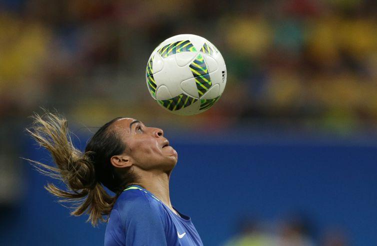 Marta é finalista no prêmio de melhor jogadora do mundo