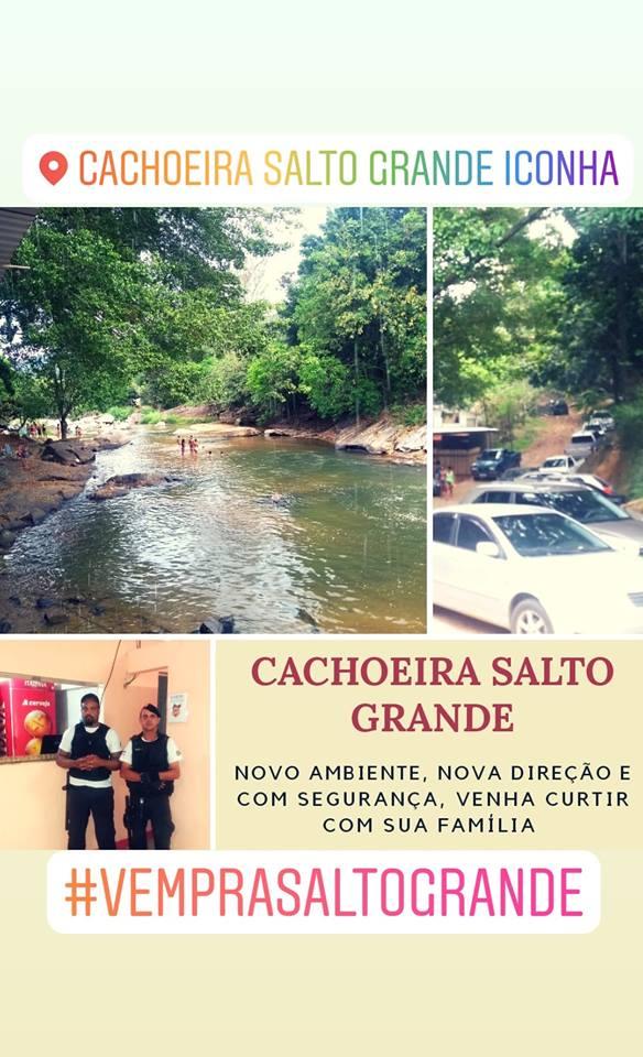 Cachoeira Salto Grande Iconha