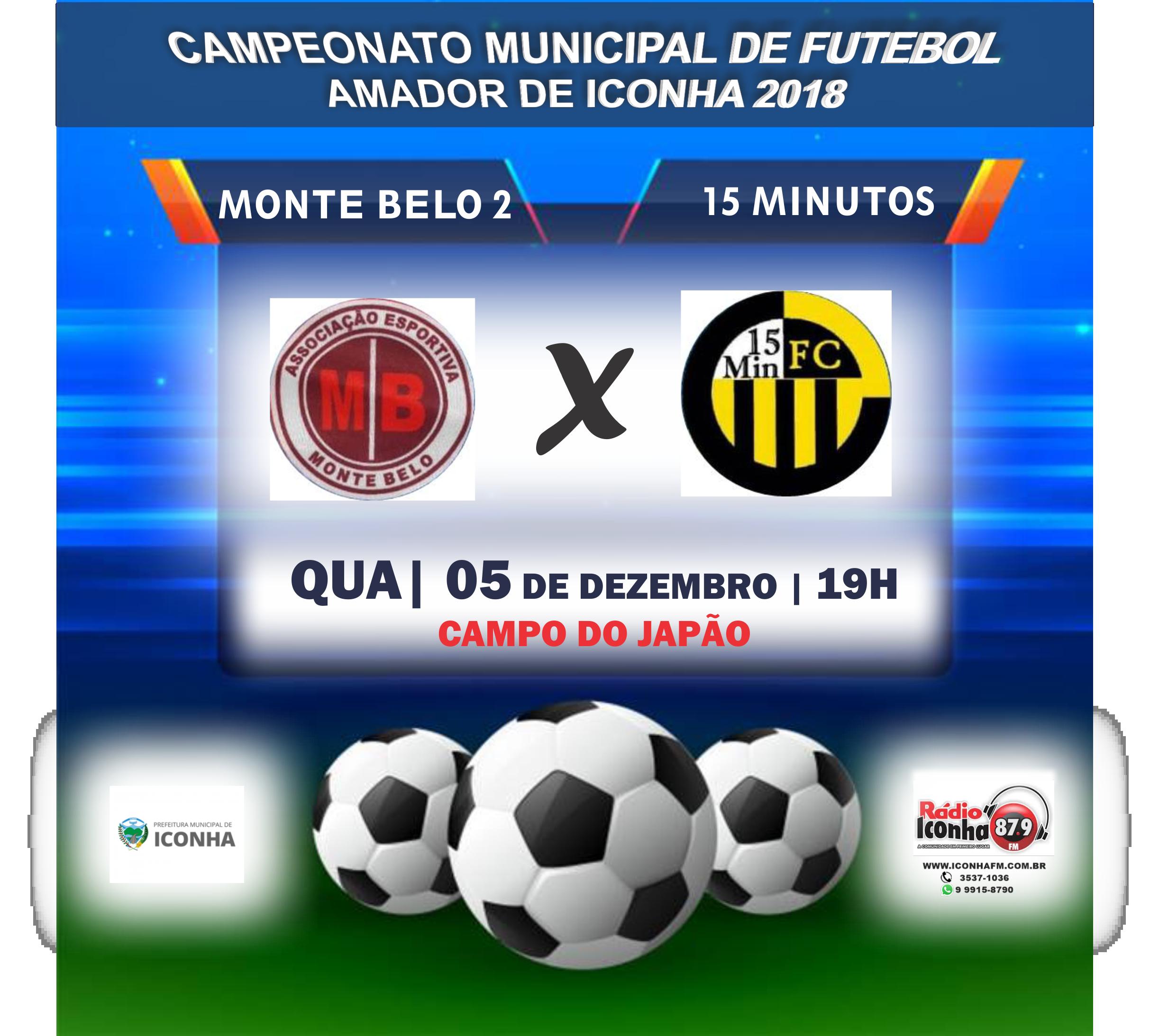 Em jogo de extremos, Monte Belo 2 joga contra 15 Minutos para se manter vivo no campeonato