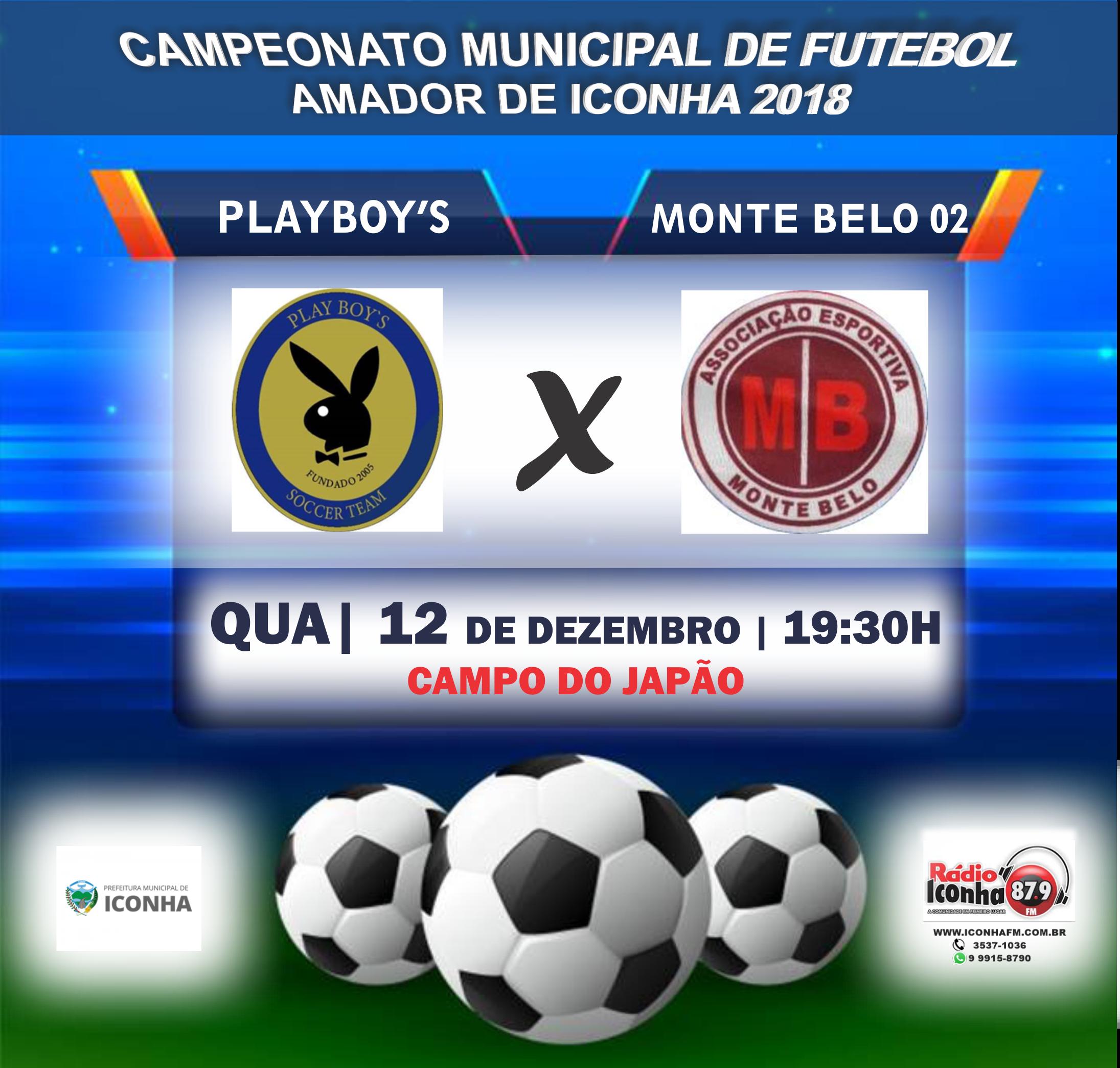 Campeonato Municipal de Futebol Amador de Iconha 2018
