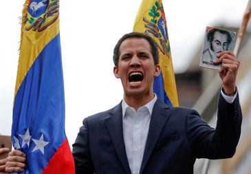 Juan Guaidó pede ajuda ao Brasil, diz Mourão