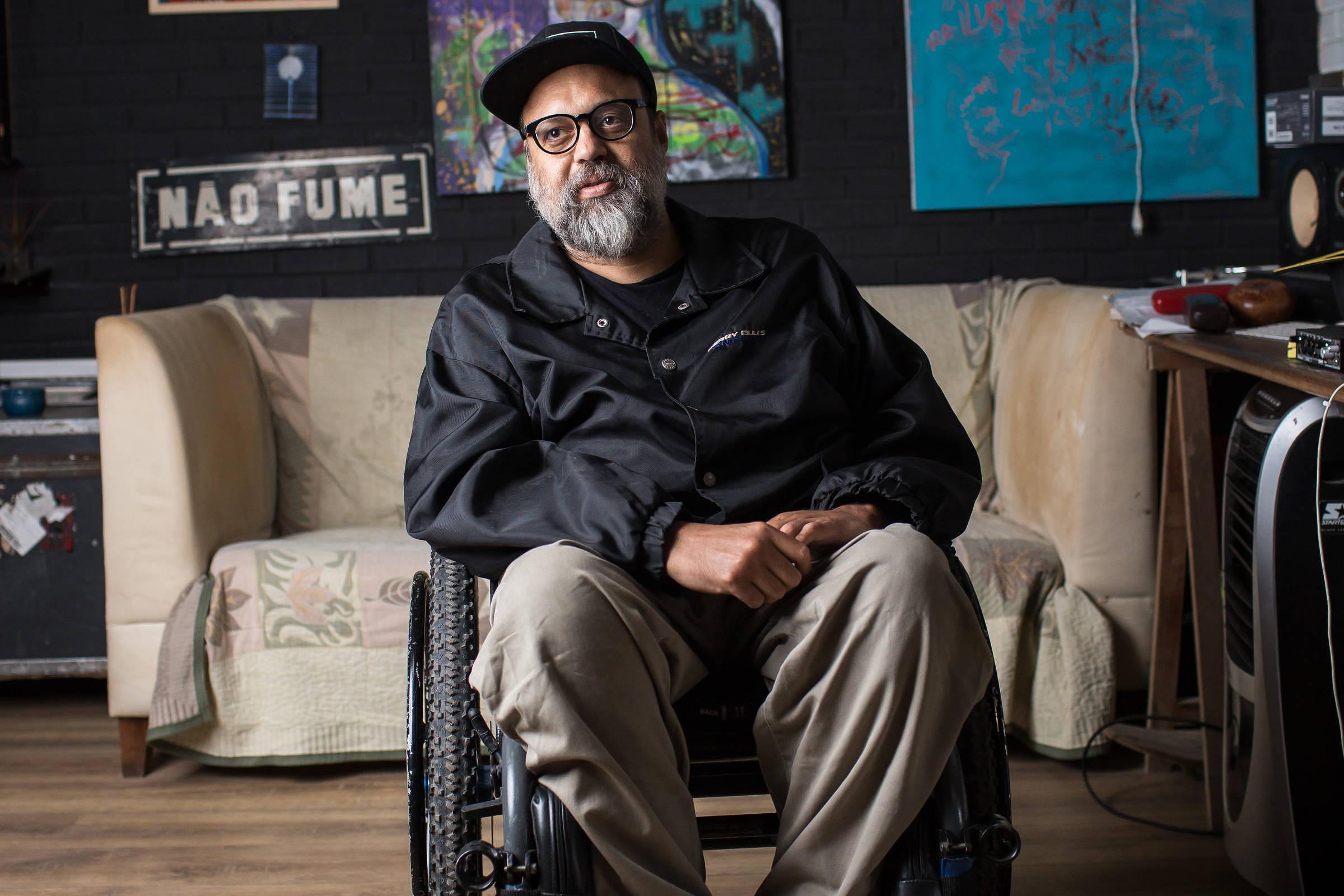 Músico Marcelo Yuka está internado em estado grave