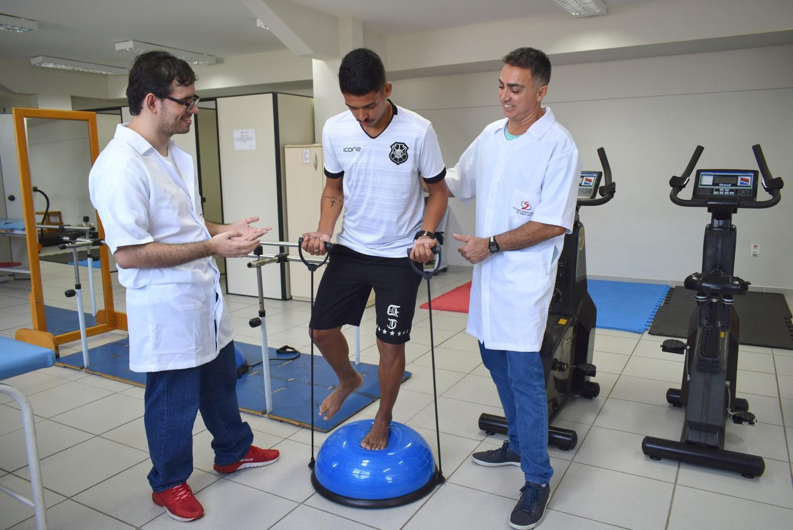 Rio Branco-ES cria núcleo para melhorar rendimento dos atletas e prevenir lesões