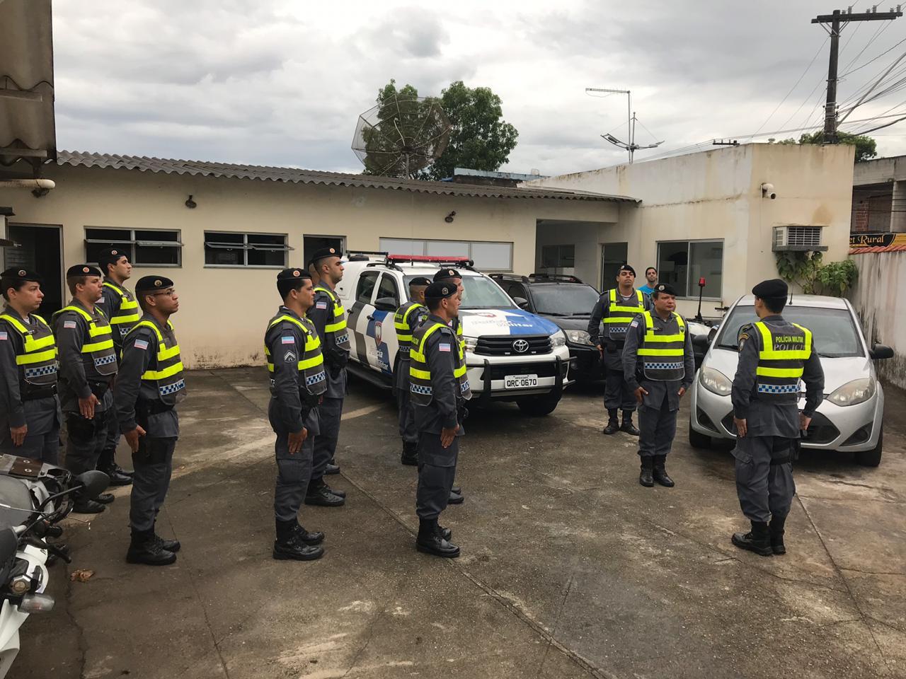 """10ª COMPANHIA INDEPENDENTE REALIZA """"OPERAÇÃO FORÇA TOTAL"""""""