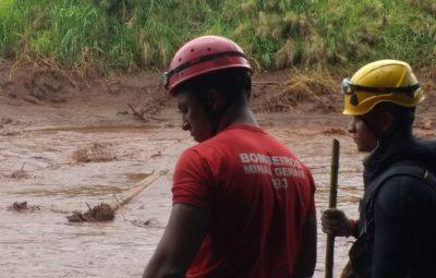 Brumadinho 1 400x255 - Exames detectam excesso de metais em quatro bombeiros de Brumadinho