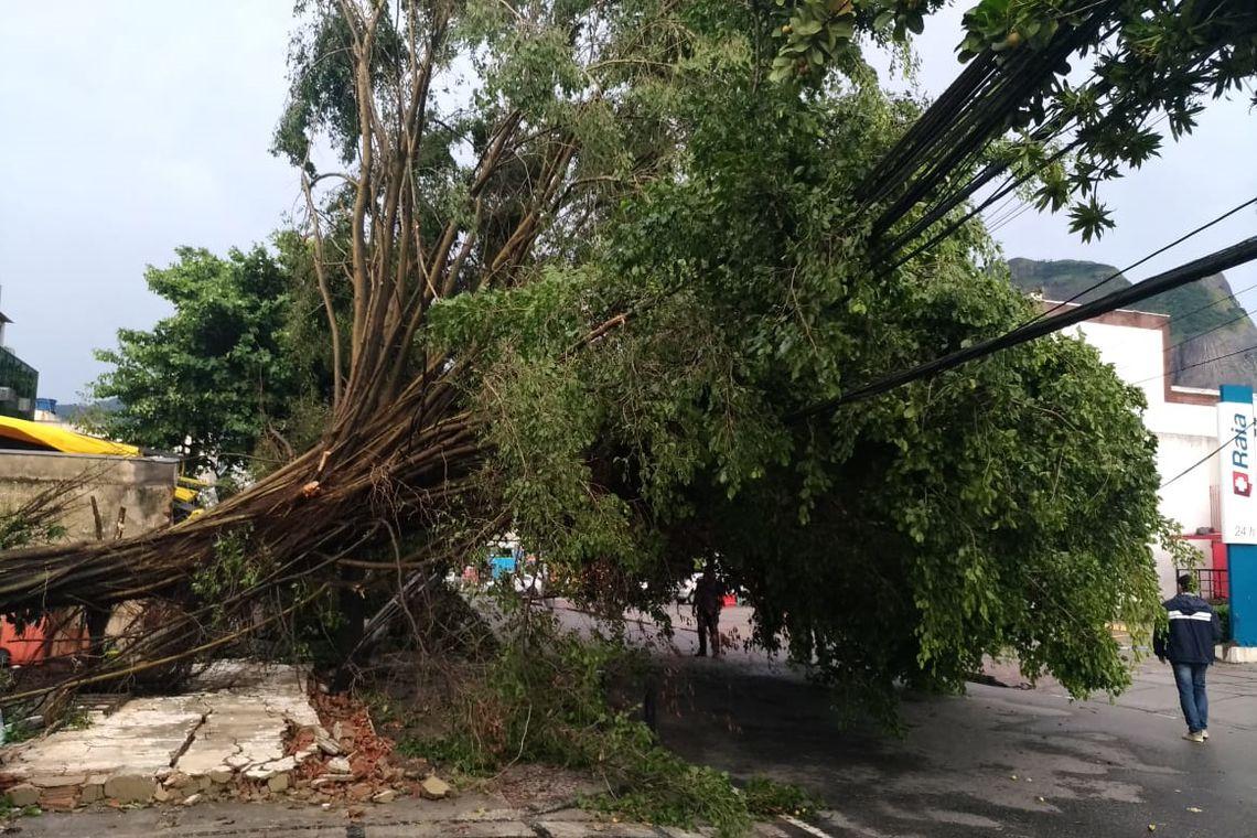 Tempestade deixa três mortos na cidade do Rio