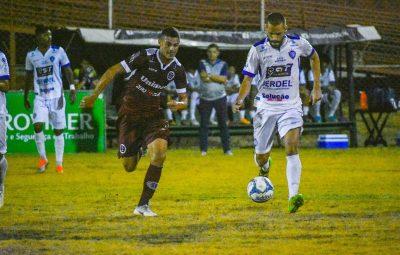 Desportiva x vitoria 400x255 - Com golaço no fim, Desportiva arranca empate com o Vitória-ES no Engenheiro Araripe