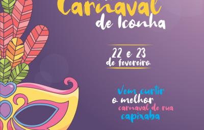 pre carnaval iconha 400x255 - Iconha: Estacionamento modificado na Muniz Freire nas noites de Carnaval