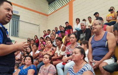 Defesa Civil orienta população em Barão de Cocais 400x255 - Riscos em Barão de Cocais causam bloqueio de mais R$ 2,95 bi da Vale