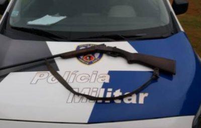 Policia Militar 400x255 - POLÍCIA MILITAR APREENDE ARMA DE FOGO EM ALFREDO CHAVES
