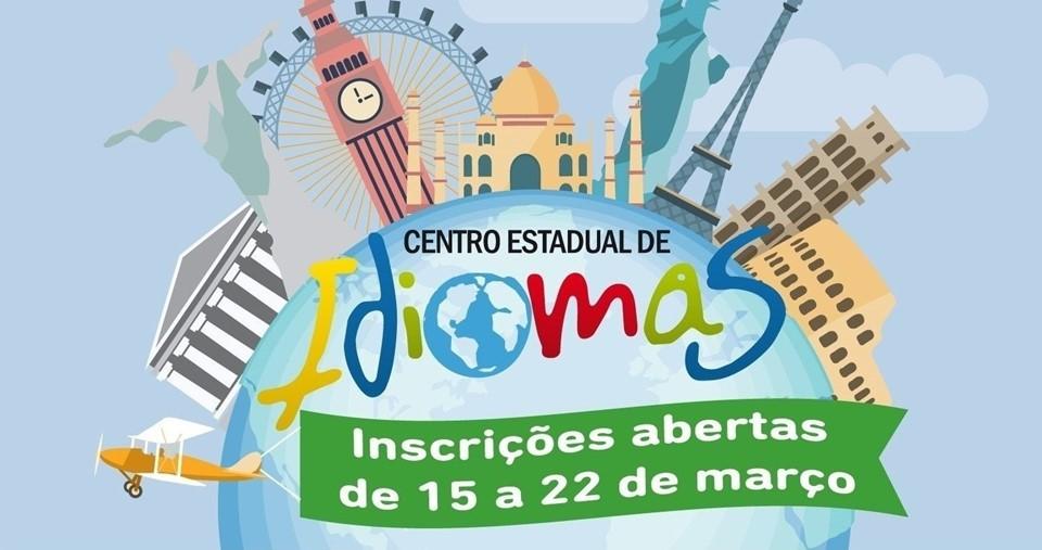 Estudantes tem até dia 22 de março para se inscrever para Cursos de Idiomas da SEDU