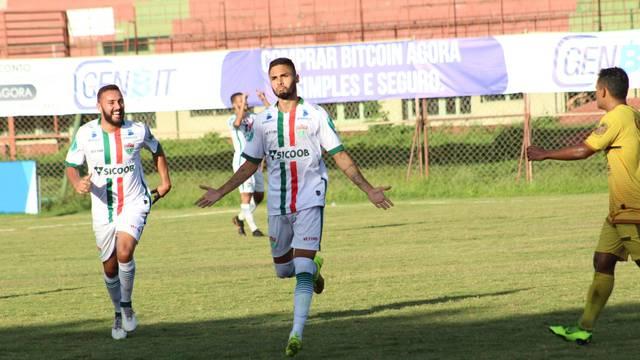 Com gol de Cristian, Rio Branco VN arranca empate no Araripe e rebaixa o Tupy-ES