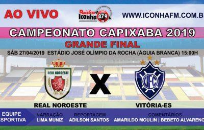 Final Capixabão 2019 400x255 - GRANDE FINAL do Campeonato Capixaba 2019 Ao vivo na Rádio Iconha FM