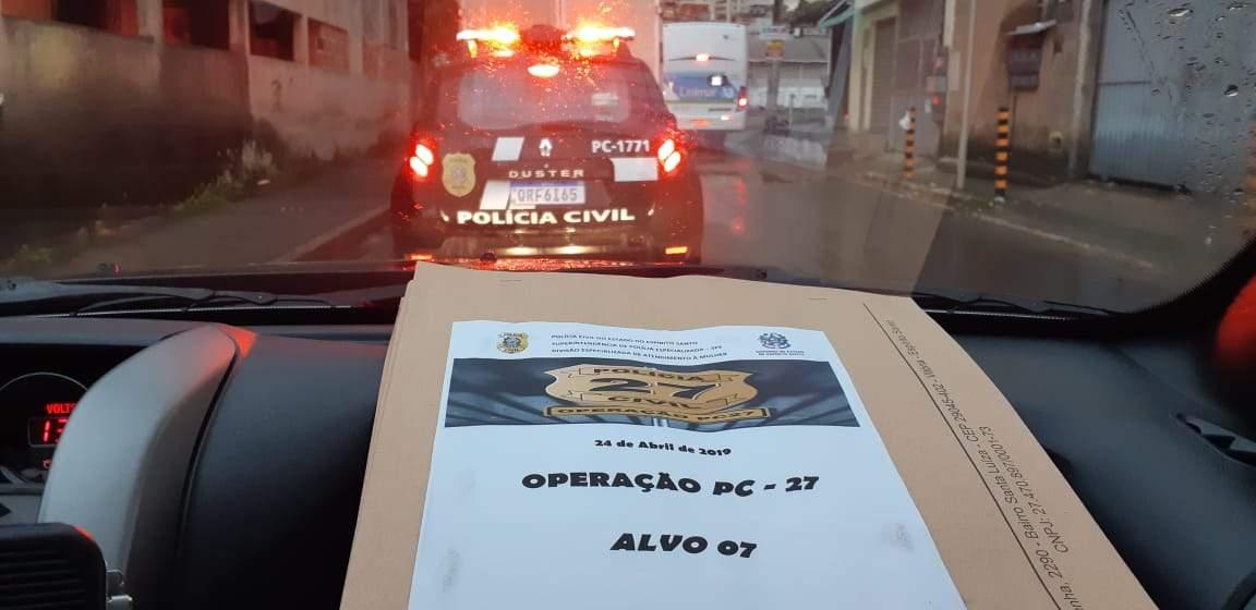 Megaoperação da Polícia Civil prende 55 pessoas no Espírito Santo