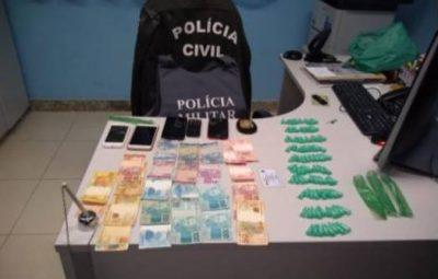 pm 4 400x255 - OPERAÇÃO POLICIAL APREENDE DROGAS EM ALFREDO CHAVES