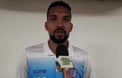 """vitoria ES 400x255 - Thainler exalta assistência para o gol do Vitória-ES e pede """"calma"""" ao time no jogo de volta"""