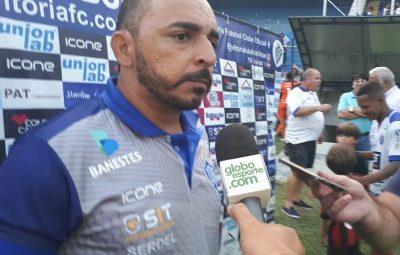 """vitoria es 400x255 - Wesley Martinelli elogia o Estrela antes dos duelos das semifinais: """"Equipe bem montada"""""""
