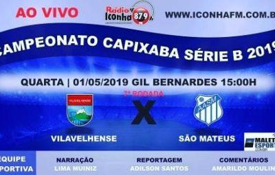 capiabao 2019 serie B 400x255 - AO VIVO na Rádio Iconha FM: Campeonato Capixaba Série B 2019 : Vilavelhense x São Mateus