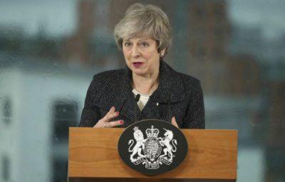 THERESA MAY 400x255 - Theresa May deixa oficialmente a liderança do Partido Conservador