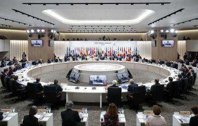 g20 400x255 - Começa reunião de cúpula do G20 no Japão