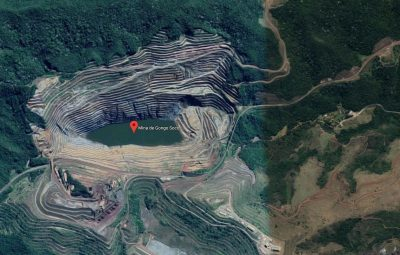 mina de gongo soco barao dos cocais 400x255 - Barão de Cocais: Talude de mina se movimenta 42 centímetros por dia