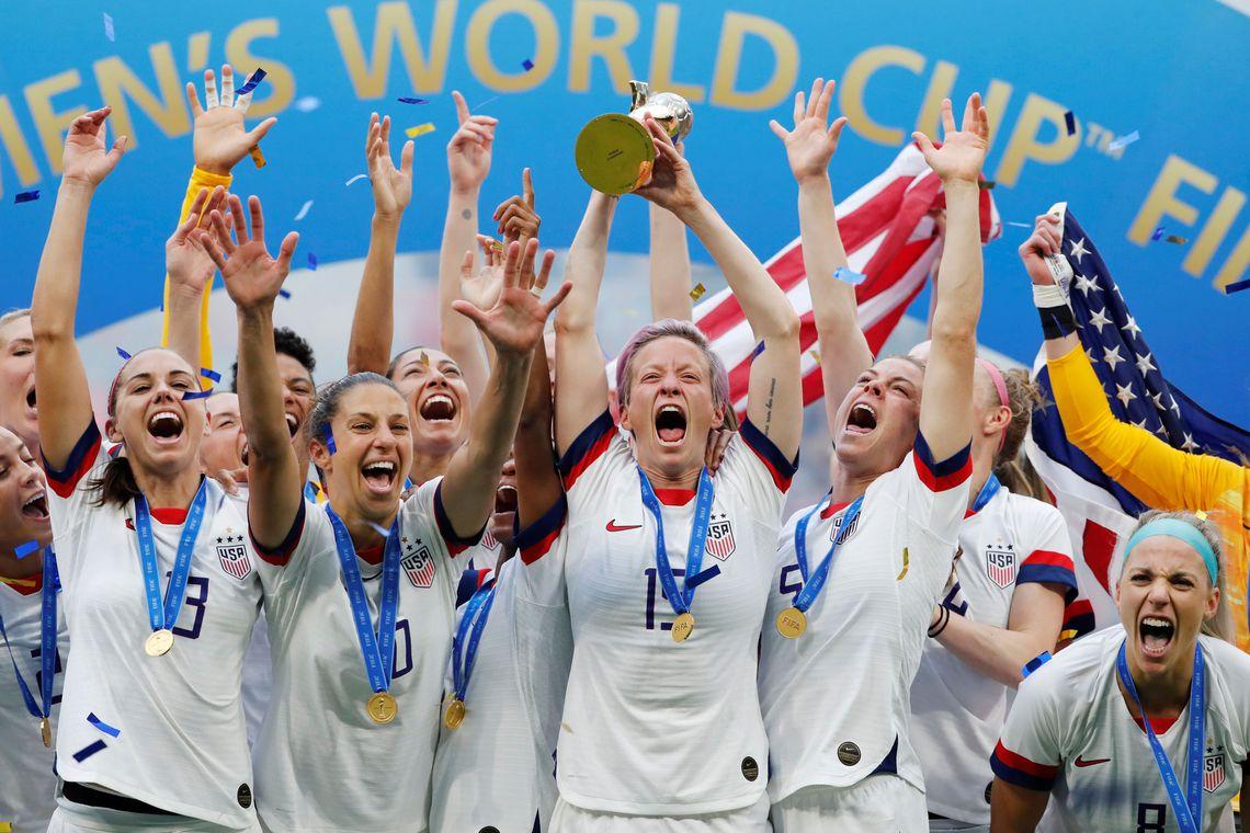 Equipe dos EUA confirma favoritismo e é bicampeã do mundo
