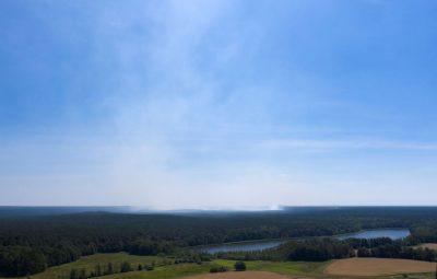 Incêndio florestal na Alemanha 400x255 - Incêndio florestal na Alemanha ameaça detonar munições da 2ª Guerra